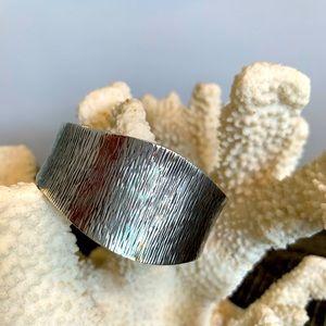 Sterling silver bracelet cuff handmade